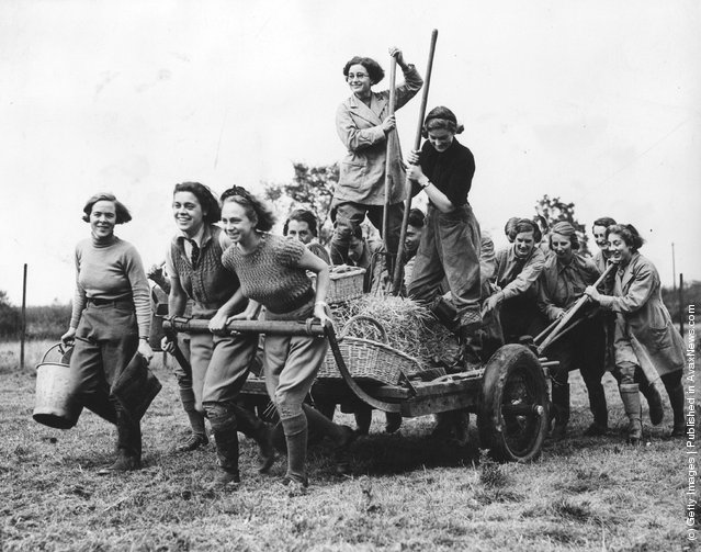1937:  A record number of students, a third of them girls, have enrolled for the winter session at the East Anglian Institute of Agricultural Studies in Chelmsford