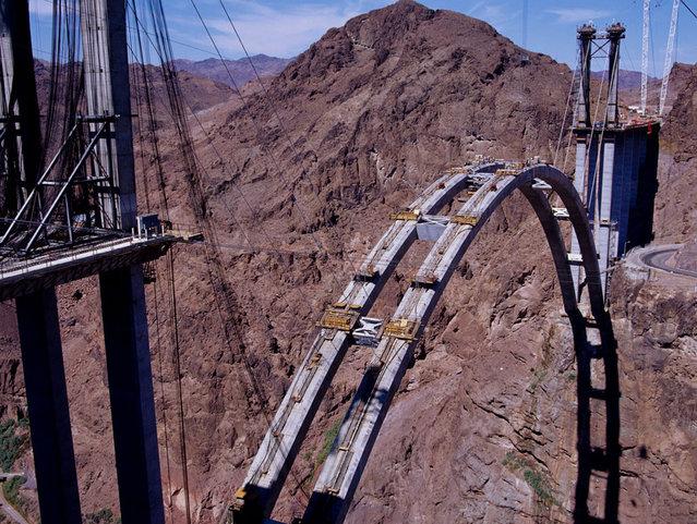 Mike O'Callaghan–Pat Tillman Memorial Bridge In Colorado River