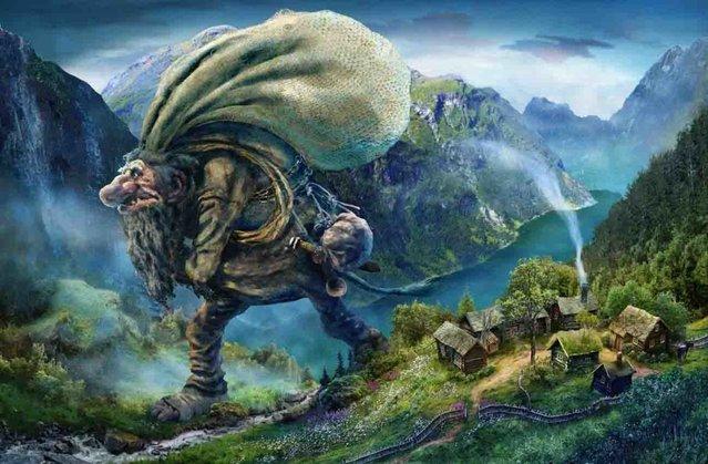 Norwegian Trolls By Ivar Rodningen Part 2