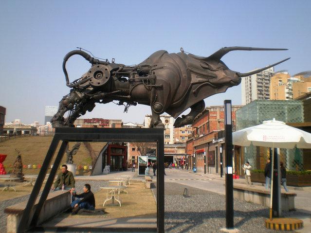 Steampunk Sculptures By Pierre Matter
