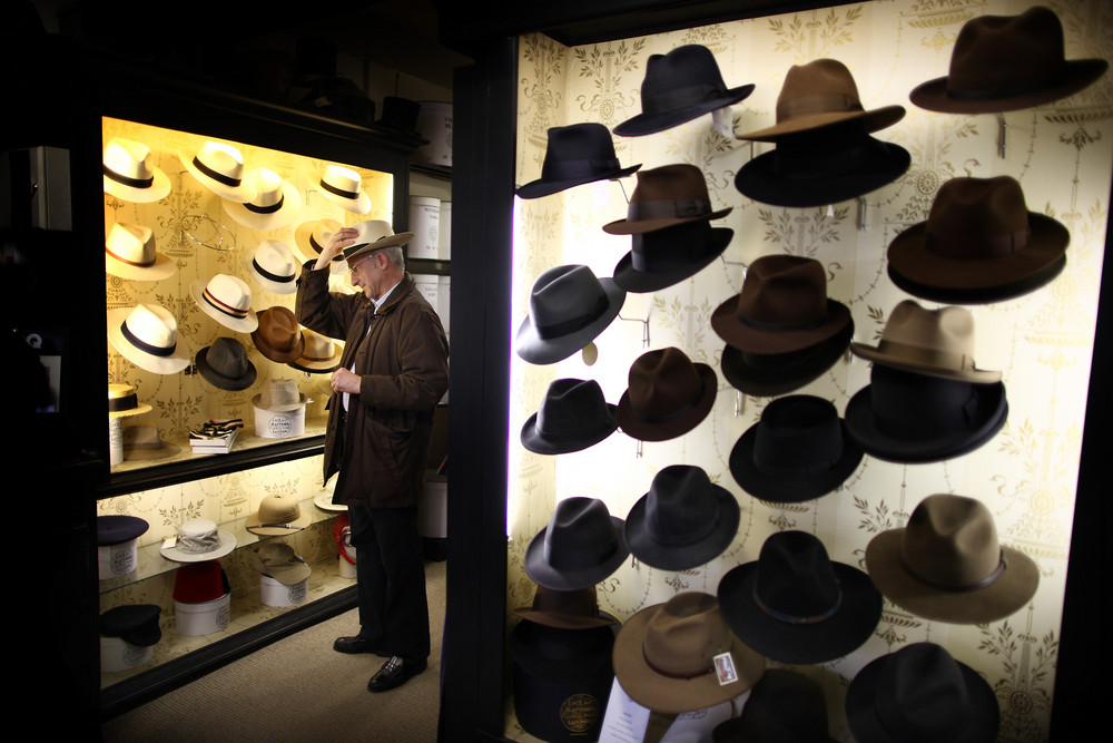 Historic Hatters of James Lock and Co.