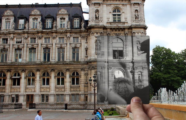 President De Gaulle at the Hotel De Ville. (Photo by Julien Knez/Caters News)