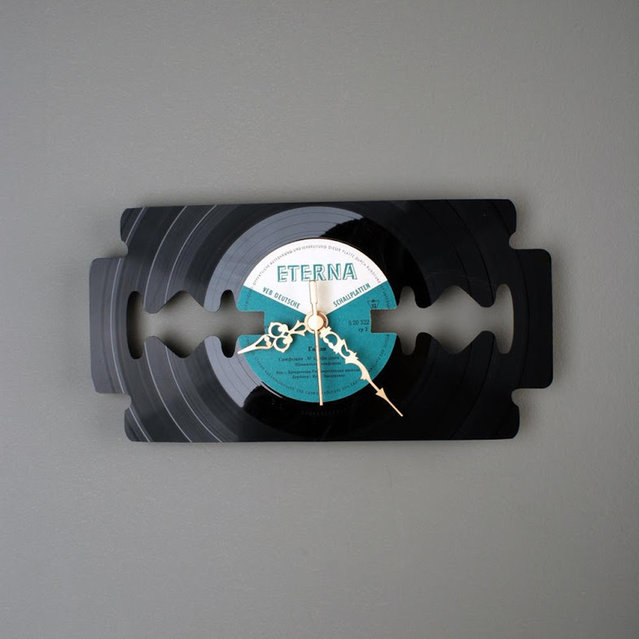 Vinyl Clock By Pavel Sidorenko Part 1