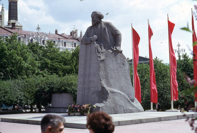 Karl Marx Statue, Moscow, 1969