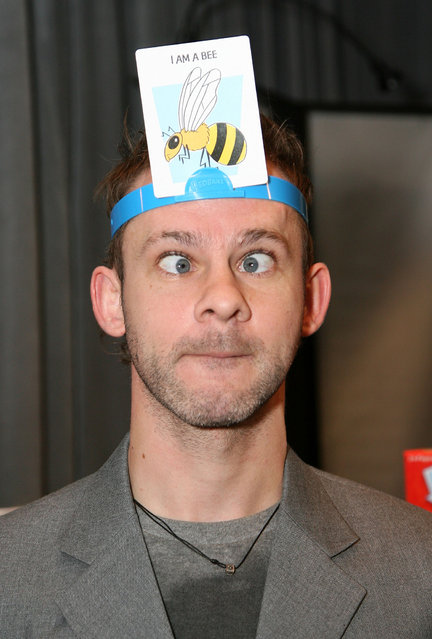 "Actor Dominic Monaghan attends the Access Hollywood ""Stuff You Must..."" Lounge produced by On 3 Productions at the Sofitel Hotel on January 14, 2011 in Los Angeles, California. (Photo by Maury Phillips/WireImage)"