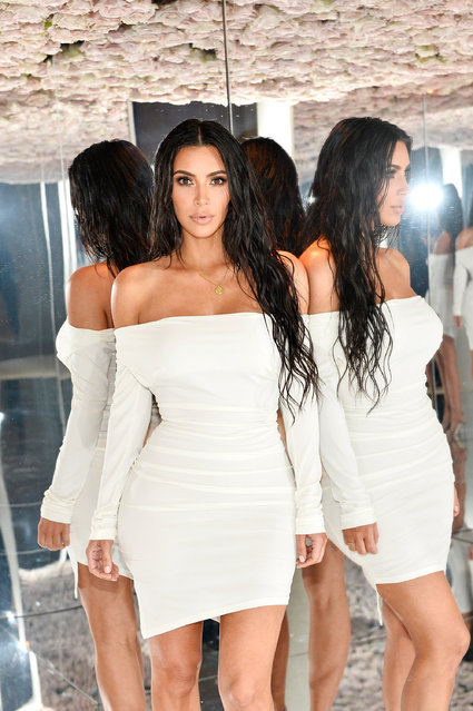 Kim Kardashian West celebrates The Launch Of KKW Beauty on June 20, 2017 in Los Angeles, California.  (Photo by Stefanie Keenan/Getty Images for Full Picture)
