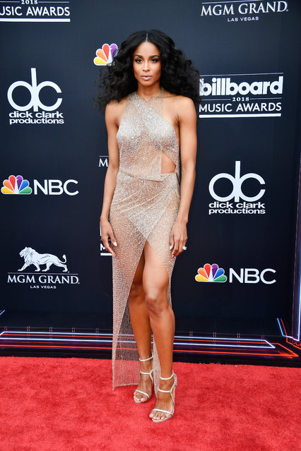 Recording artist Ciara attends the 2018 Billboard Music Awards at MGM Grand Garden Arena on May 20, 2018 in Las Vegas, Nevada. (Photo by Frazer Harrison/Getty Images)