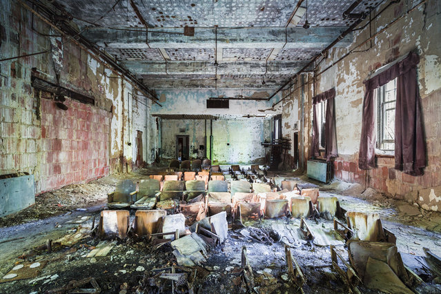 North Brother Island in the Bronx was the site of a historic hospital for contagious diseases. Today, it's designated as a wildlife preserve by the Parks department after being abandoned for half a century. (Photo by Will Ellis)