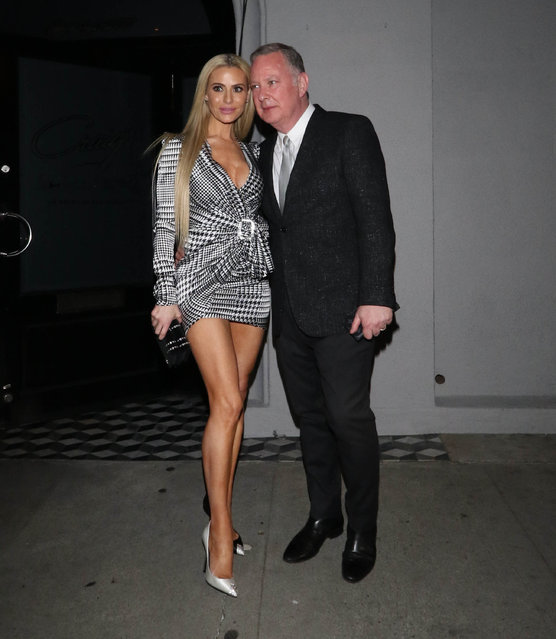 Dorit Kemsley are Paul Kemsley are seen on February 12, 2019 in Los Angeles, CA. (Photo by Hollywood To You/Star Max/GC Images)
