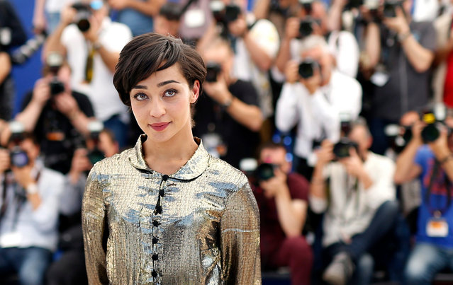 """Irish-Ethiopian actress Ruth Negga poses during the photocall for """"Loving"""" at the 69th annual Cannes Film Festival, in Cannes, France, 16 May 2016. The movie is presented in the Official Competition of the festival which runs from 11 to 22 May. (Photo by Sebastien Nogier/EPA)"""