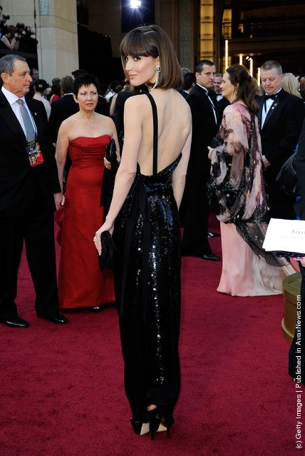 Actress Rose Byrne arrives at the 84th Annual Academy Awards held at the Hollywood & Highland Center