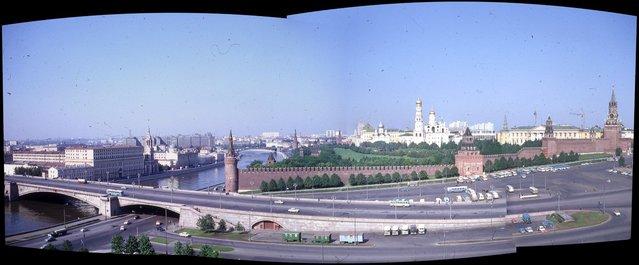 Kremlin from Rossiya Hotel, Moscow, 1969