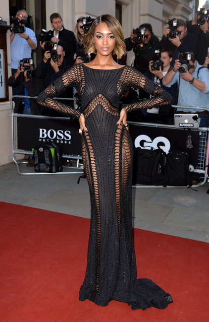 Jourdan Dunn attends the GQ Men of the Year awards at The Royal Opera House on September 2, 2014 in London, England. (Photo by Anthony Harvey/Getty Images)