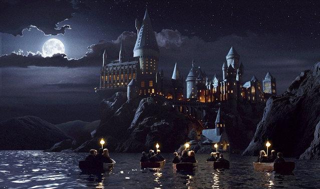 Model of Hogwarts Castle