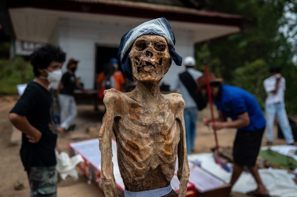 Ma'nene Ritual to Honor the Spirits of their Mummified Ancestors