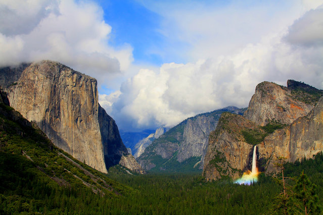 Yosemite National Park. (Photo by Caters News)