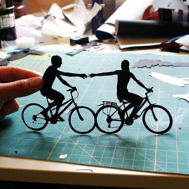Papercuts by Joe Bagley