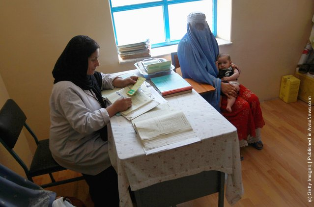 USAID-funded clinic