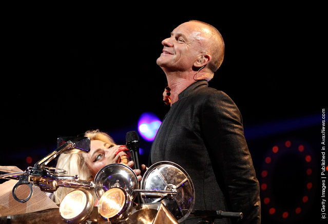 iHeartRadio Music Festival, Lady Gaga, Sting