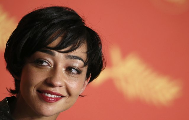 """Cast member Ruth Negga takes part in a news conference for the film """"Loving"""" in competition at the 69th Cannes Film Festival in Cannes, France, May 16, 2016. (Photo by Eric Gaillard/Reuters)"""