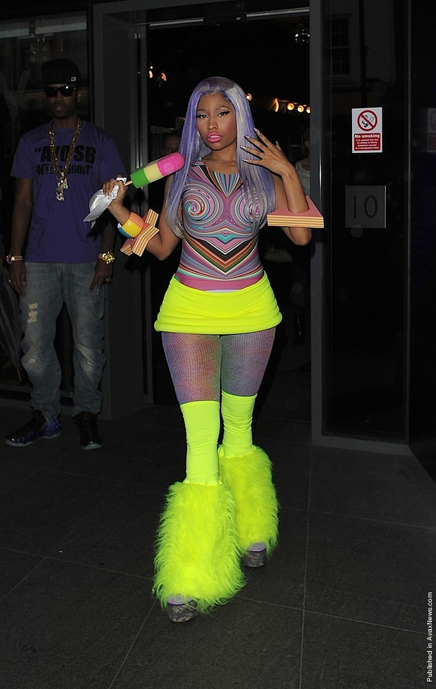 Nicki Minaj Sighting in London