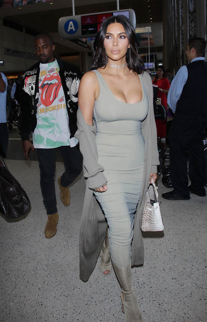 Kim Kardashian is seen on June 12, 2016 in Los Angeles, California. (Photo by SMXRF/Star Max/GC Images)
