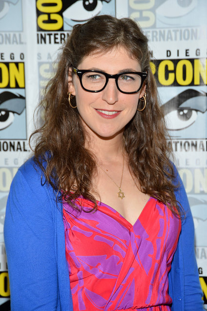 "If you star on The Big Bang Theory, you're going to have at least a little bit of a nerd glow around you. Mayim Bialik also has a Ph.D. in neuroscience, which adds to her nerd factor. Photo: Actress Mayim Bialik attends ""The Big Bang Theory"" Press Room during Comic-Con International 2012 held at the Hilton San Diego Bayfront Hotel on July 13, 2012 in San Diego, California. (Photo by Frazer Harrison/Getty Images)"