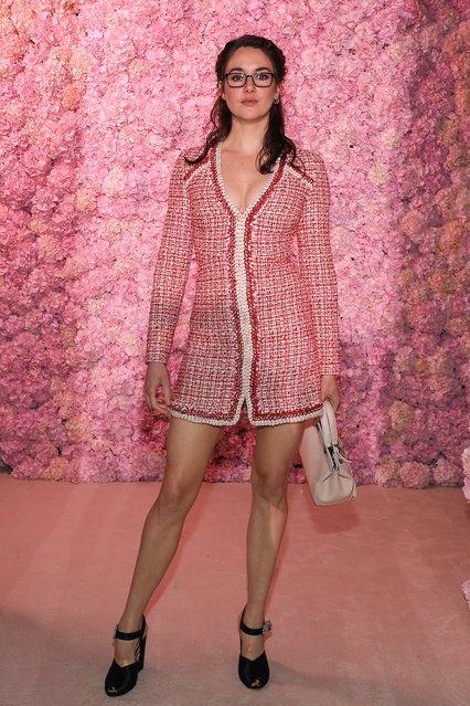 Shailene Woodley attends the Giambattista Valli show as part of the Paris Fashion Week Womenswear Fall/Winter 2020/2021 on March 02, 2020 in Paris, France. (Photo by Pascal Le Segretain/Getty Images)