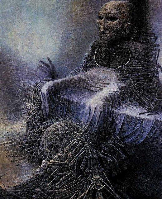 Art by  Zdzisław Beksiński
