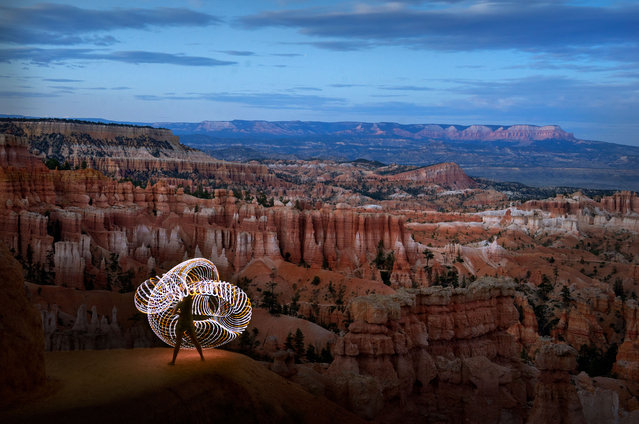 Magnificent pictures taken by Grant Mallory at Bryce Canyon. (Photo by Grant Mallory/Caters News)