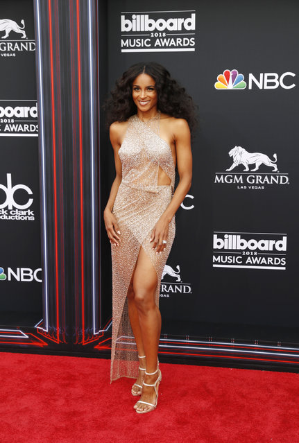 Ciara attends the 2018 Billboard Music Awards at MGM Grand Garden Arena on May 20, 2018 in Las Vegas, Nevada. (Photo by Steve Marcus/Reuters)