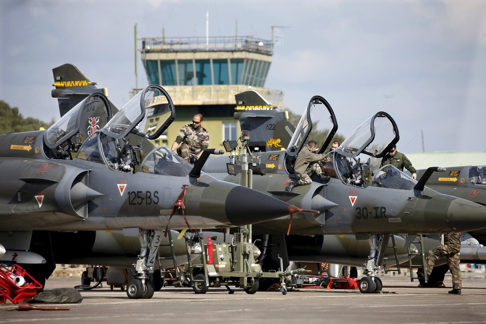 French Air Exercise in Corsica