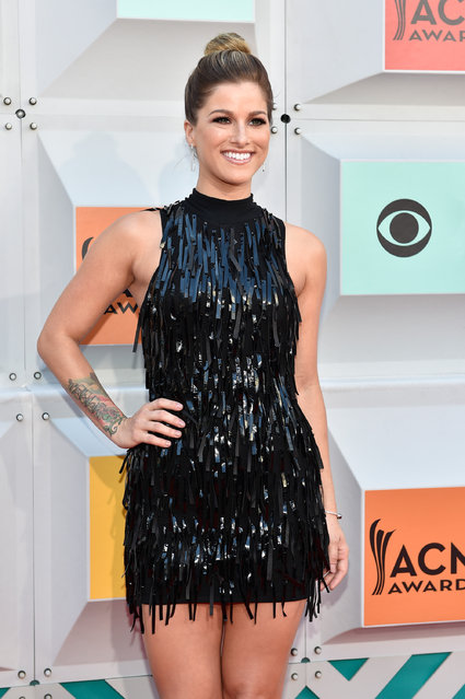 Singer Cassadee Pope attends the 51st Academy of Country Music Awards at MGM Grand Garden Arena on April 3, 2016 in Las Vegas, Nevada. (Photo by David Becker/Getty Images)