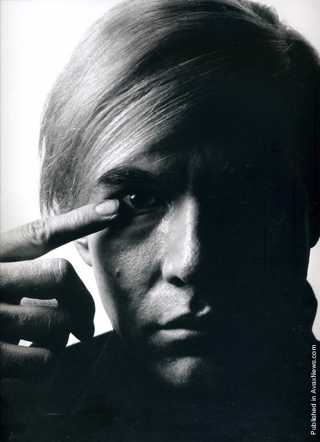 American painter and filmmaker Andy Warhol. USA, 1968
