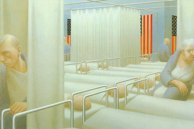 Ward. Artwork by George Tooker