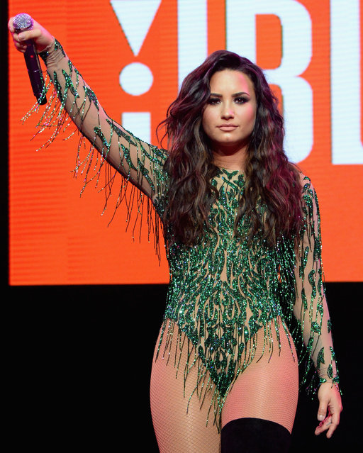 Recording artist Demi Lovato performs at JBL Fest, an exclusive, three day music experience hosted by JBL  at The Joint inside the Hard Rock Hotel & Casino on July 29, 2017 in Las Vegas, Nevada. (Photo by Kevin Mazur/Getty Images for JBL)