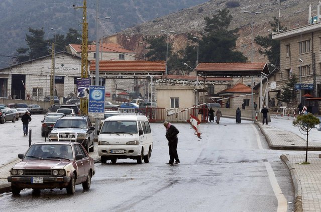A general view shows the Masnaa border crossing between Lebanon and Syria January 5, 2015. (Photo by Mohamed Azakir/Reuters)