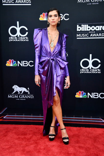 Recording artist Dua Lipa attends the 2018 Billboard Music Awards at MGM Grand Garden Arena on May 20, 2018 in Las Vegas, Nevada. (Photo by Frazer Harrison/Getty Images)