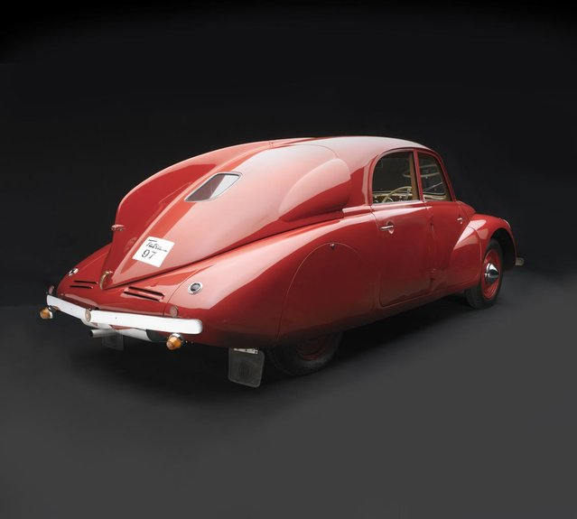 1938 Tatra T97. Collection of Lane Motor Museum. (Photo by Peter Harholdt)