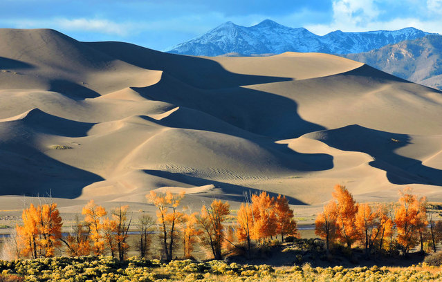 Great Sand Dunes, National Park. (Photo by Caters News)