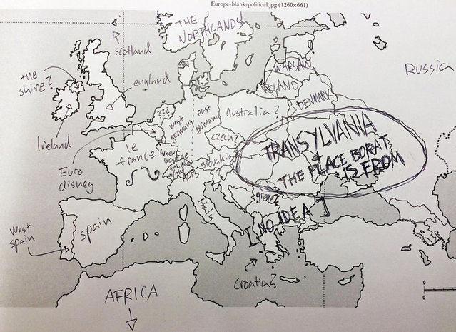 Americans Try To Place European Countries On A Map Part 2