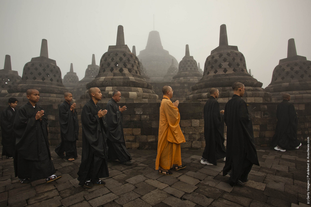 Indonesia Commemorates Birth Of Buddah