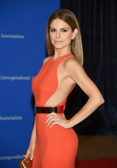 TV personality Maria Menounos attends the 101st Annual White House Correspondents' Association Dinner at the Washington Hilton on April 25, 2015 in Washington, DC. (Photo by Michael Loccisano/Getty Images)