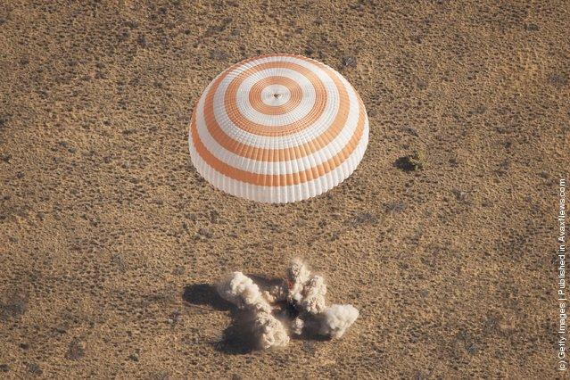 Soyuz TMA-21 spacecraft