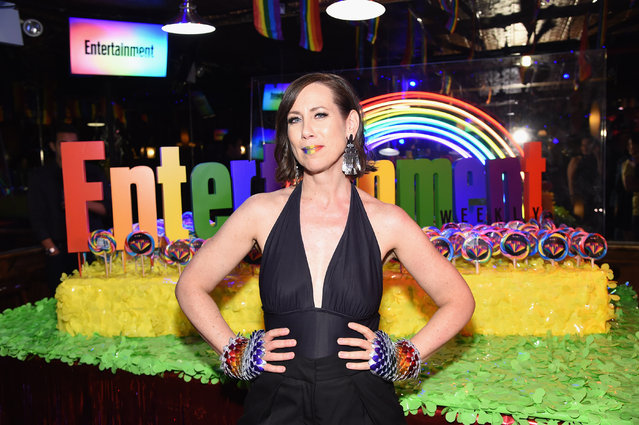 Miriam Shor attends as Entertainment Weekly Celebrates Its Annual LGBTQ Issue at the Stonewall Inn on June 05, 2019 in New York City. (Photo by Jamie McCarthy/Getty Images for Entertainment Weekly)