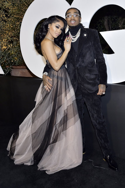 Saweetie and Quavo attends the 2019 GQ Men Of The Year Celebration At The West Hollywood EDITION on December 05, 2019 in West Hollywood, California. (Photo by Stefanie Keenan/Getty Images for GQ Men of the Year 2019)