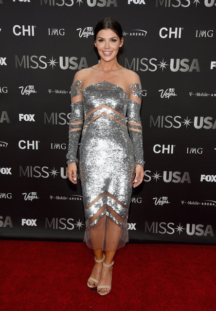 Actress and pageant judge Ali Landry attends the 2016 Miss USA pageant at T-Mobile Arena on June 5, 2016 in Las Vegas, Nevada. (Photo by Ethan Miller/Getty Images)