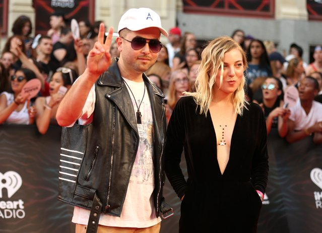 Grand Theft arrive for the iHeartRadio Much Music Video Awards (MMVAs) in Toronto, Ontario, Canada June 19, 2016. (Photo by Peter Power/Reuters)