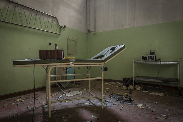 An old treatment room. (Photo by Thomas Windisch/Caters News)