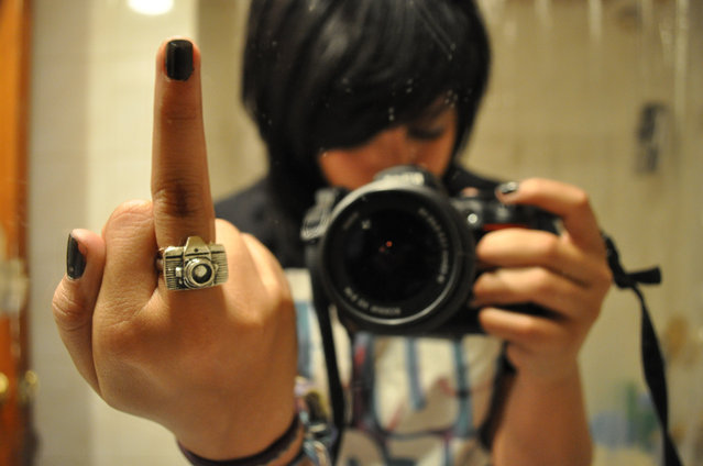 """""""f*ck everything but photography"""". (Photo and comment by Alyssa Diaz)"""